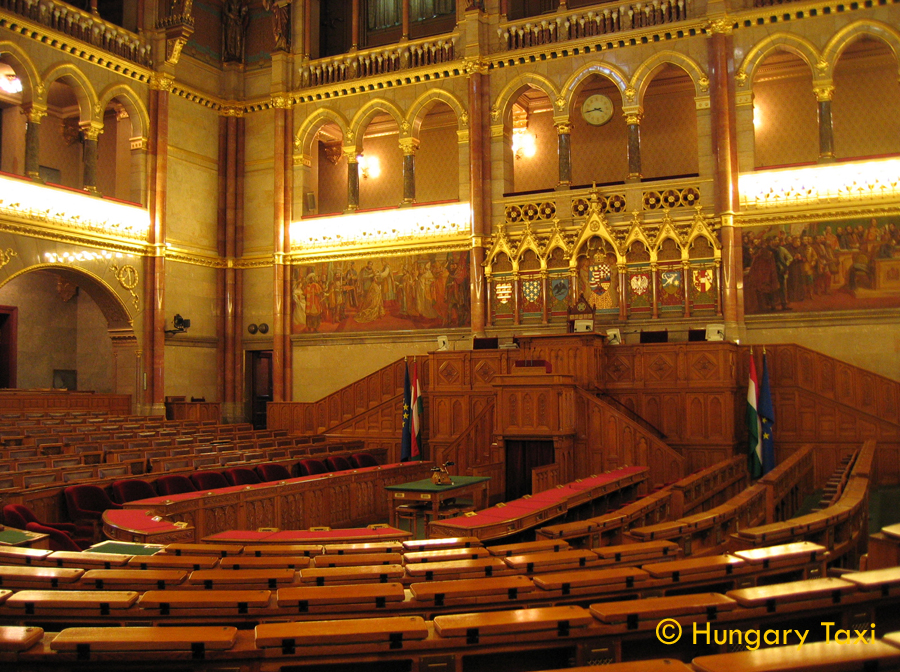 National Assembly is the parliament of Hungary. The unicameral body consists of 386 members elected to 4-year terms. The Assembly includes 25 standing committees to debate and report on introduced bills and to supervise the activities of the ministers. The assembly has met in the Hungarian Parliament Building in Budapest since 1902.