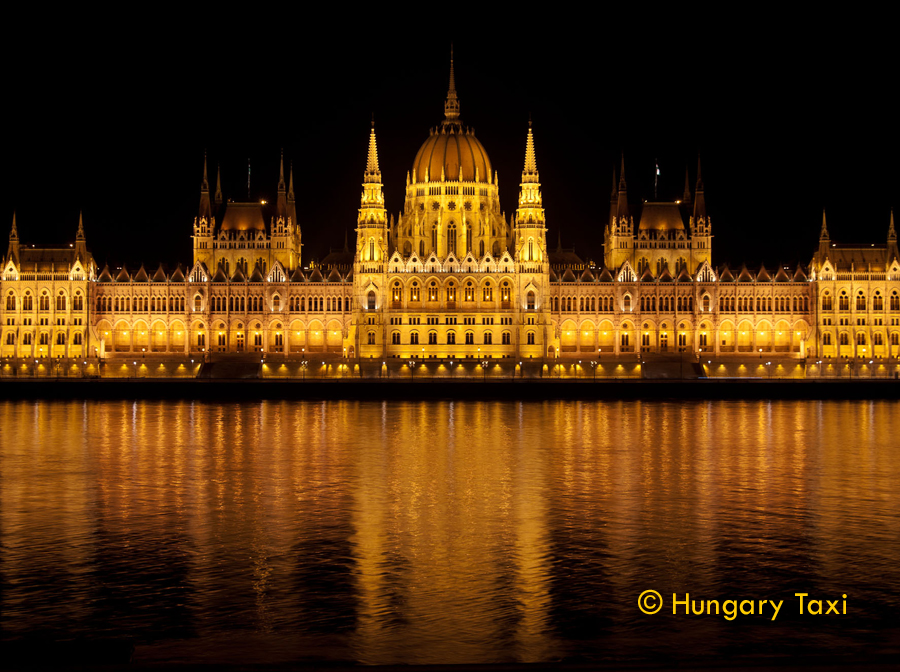 The Hungarian Parliament Building is the seat of the National Assembly of Hungary, one of Europe's oldest legislative buildings, a notable landmark of Hungary and a popular tourist destination of Budapest. It lies in Lajos Kossuth Square, on the bank of the Danube. It is currently the largest building in Hungary and still the tallest building in Budapest.