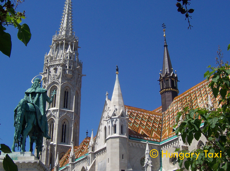 Matthias Church is a Roman Catholic church located in front of the Fisherman's Bastion at the heart of Buda's Castle District. According to church tradition, it was originally built in Romanesque style in 1015. The current building was constructed in the florid late Gothic style in the second half of the 14th century and was extensively restored in the late 19th century. Officially named as the Church of Our Lady, the popular name Matthias Church.